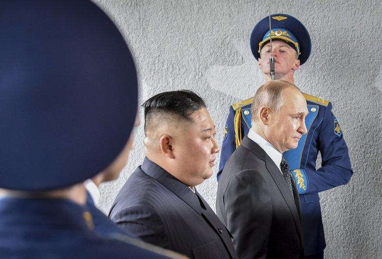 K. J. Unas ir V. Putinas (nuotr. SCANPIX)