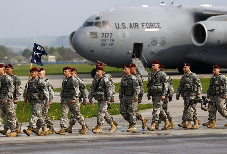 JAV planuoja Baltijos šalims skirti iki 100 mln. dolerių Rusijos atgrasymo pajėgumams stiprinti (nuotr. SCANPIX)
