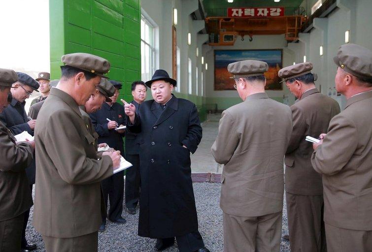 """Šiaurės Korėjos lyderis bus paskelbtas """"Didžiąja saule"""" (nuotr. SCANPIX)"""