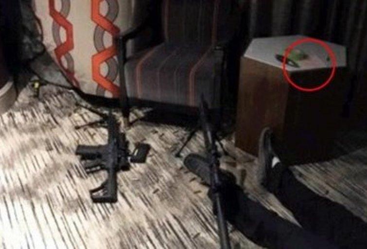 Atskleista Las Vegaso šaulio kambaryje atrasto raštelio paslaptis (nuotr. SCANPIX)