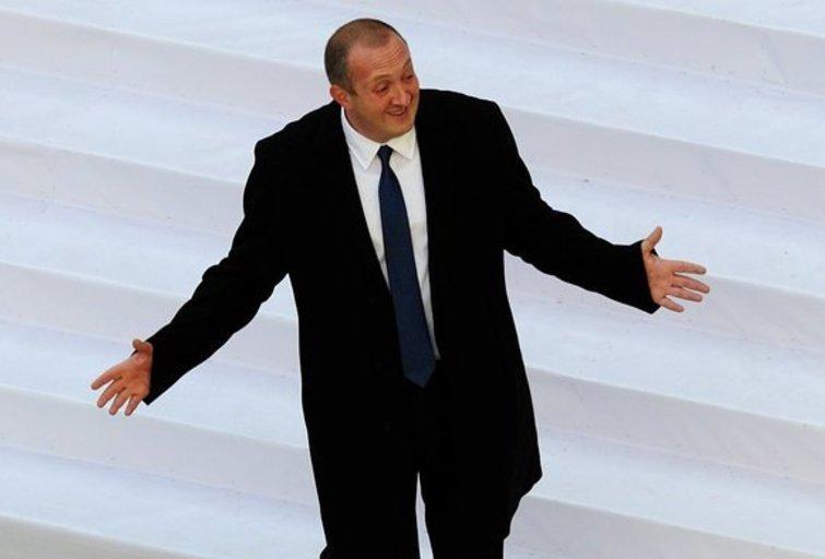 Gruzijos prezidentas Georgijus Margvelašvilis (nuotr. SCANPIX)