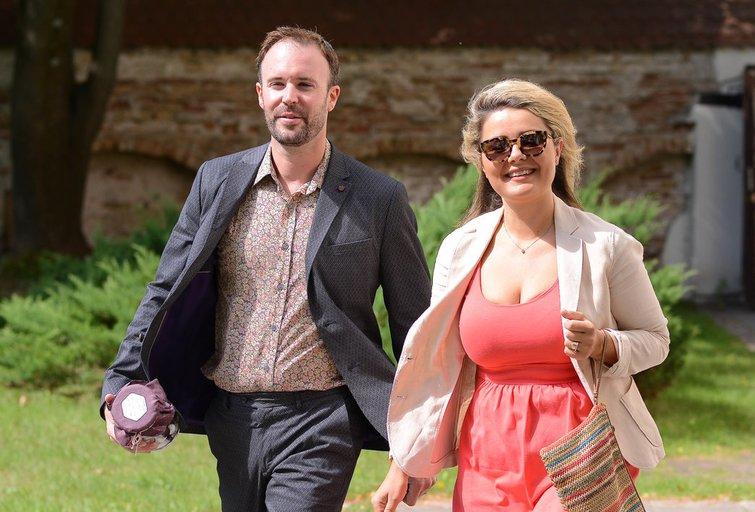Beata Nicholson su vyru Tomu (nuotr. Fotodiena.lt)