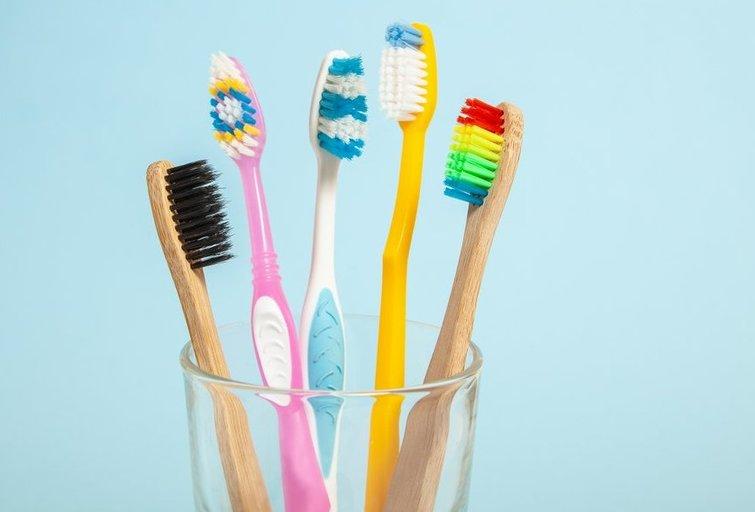 Dantų šepetėlis  (nuotr. Shutterstock.com)