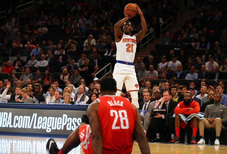Rockets vs Knicks (nuotr. SCANPIX)