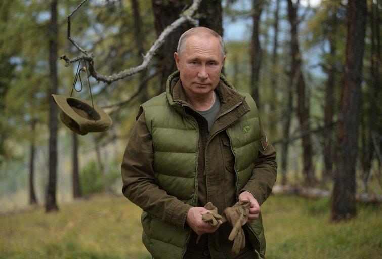 Putinas Taigoje, 2019-ieji (nuotr. SCANPIX)