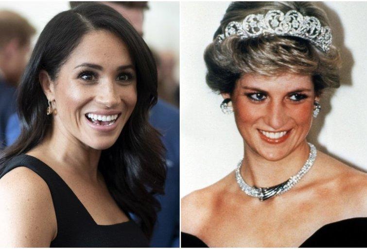 Meghan Markle ir princesė Diana (tv3.lt fotomontažas)