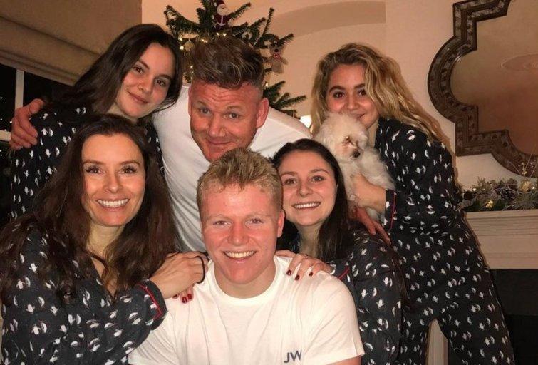 Gordon Ramsay su šeima (nuotr. Instagram)