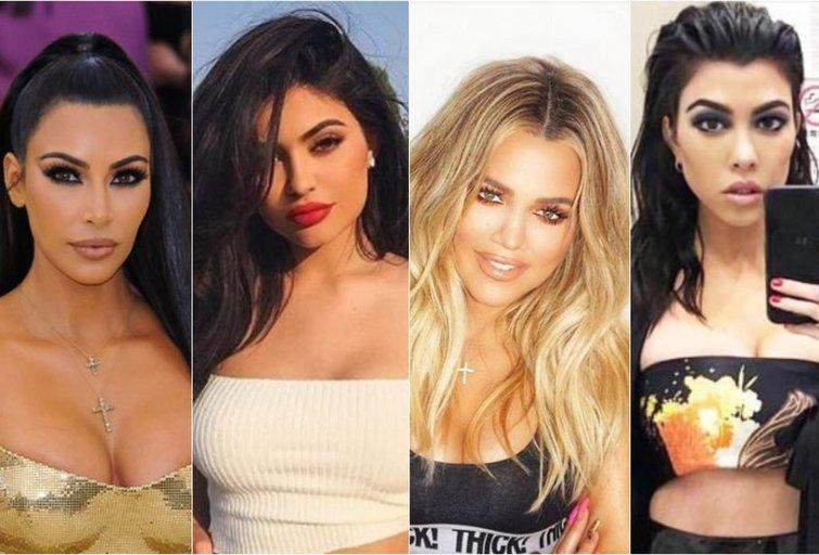 Kardashian šeima (tv3.lt fotomontažas)