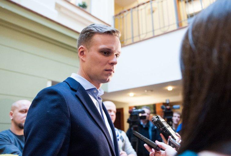 TS - Lietuvos krikščionių demokratų ir Lietuvos valstiečių ir žaliųjų sąjungos derybos (nuotr. Fotodiena.lt)