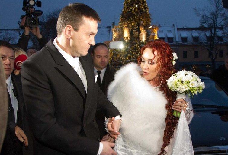 Džordanos Butkutės ir Elegijaus Strasevičiaus vestuvės (nuotr. Tv3.lt/Ruslano Kondratjevo)