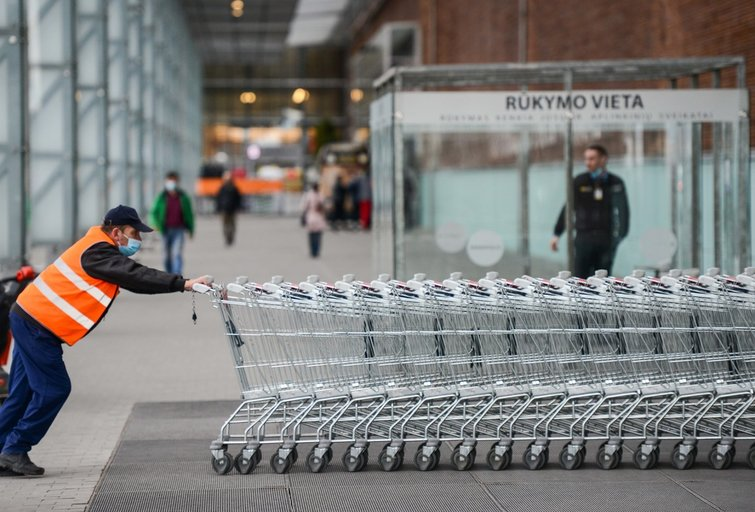 Prekyba (nuotr. Fotodiena/Justino Auškelio)
