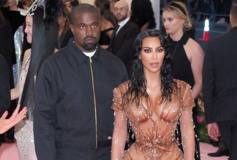 Kanye West ir Kim Kardashian (nuotr. SCANPIX)