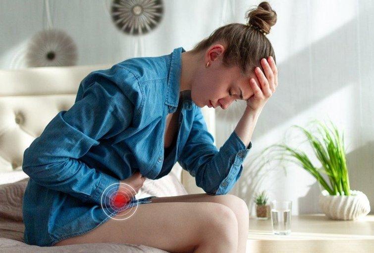 Mėnesinių skausmai (nuotr. 123rf.com)