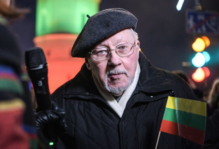 Vytautas Landsbergis Fotodiena/Arnas Strumila