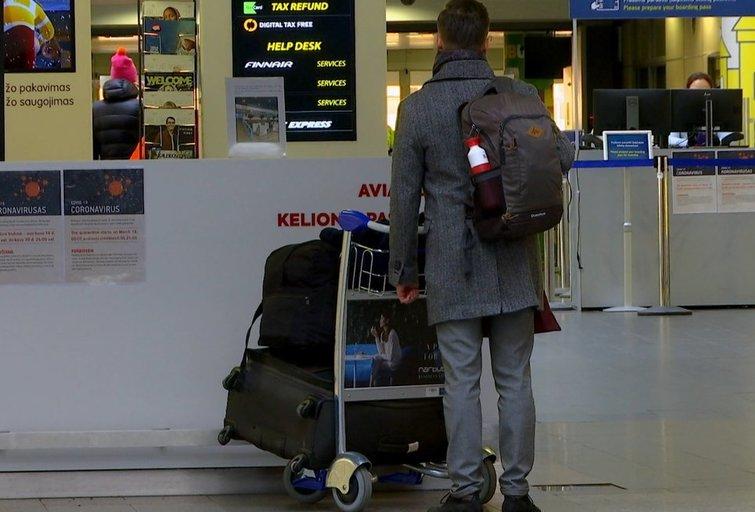 Oro uostas (nuotr. stop kadras)