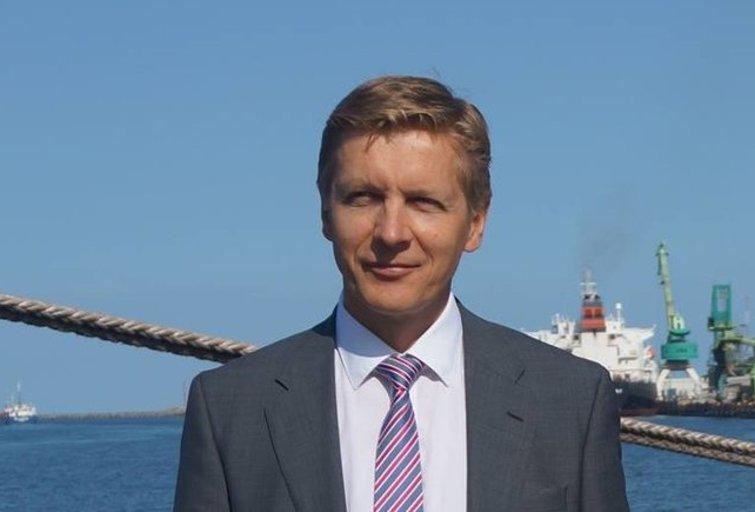 Buvęs Klaipėdos jūrų uosto direktorius Arvydas Vaitkus (nuotr. facebook.com)