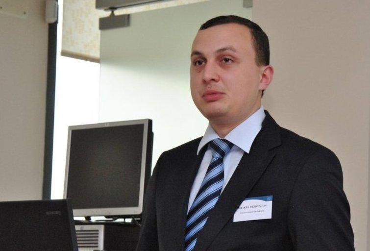 Erikas Bėrontas (nuotr. Organizatorių)