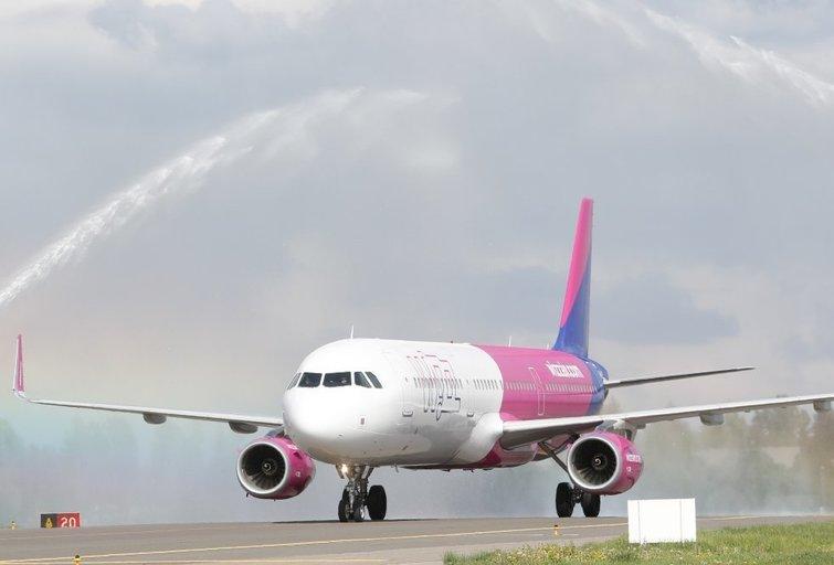 WizzAir lėktuvas (nuotr. Organizatorių)