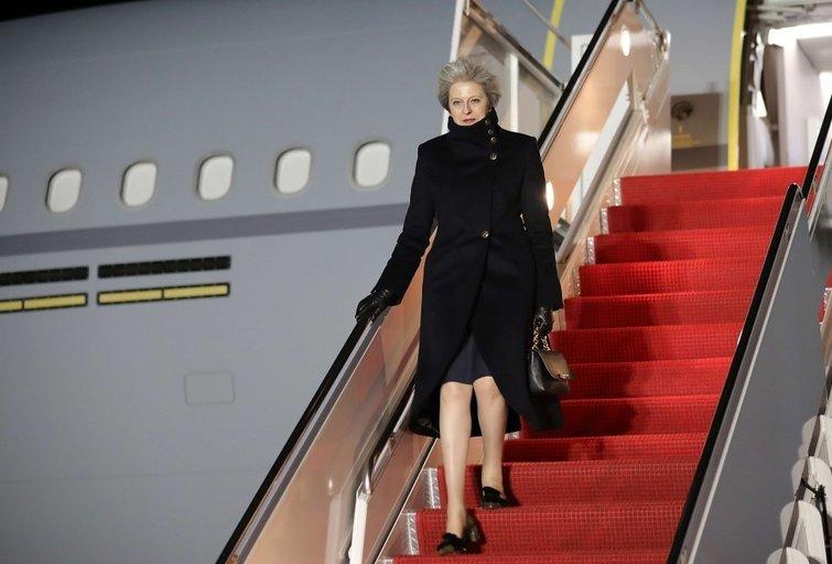 Theresa May atvyksta į JAV su perspėjimu dėl Rusijos (nuotr. SCANPIX)
