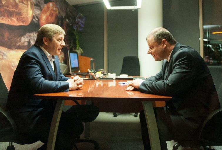 R. Karbauskis ir S. Skvernelis (nuotr. Fotodiena.lt)