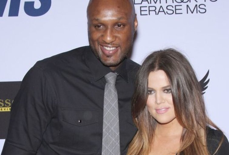 Lamaras Odomas ir Khloe Kardashian (nuotr. Vida Press)