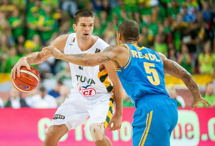 Eurobasket 2015: Lietuva - Ukraina (nuotr. Fotodiena.lt/Edvardo Blaževičiaus)