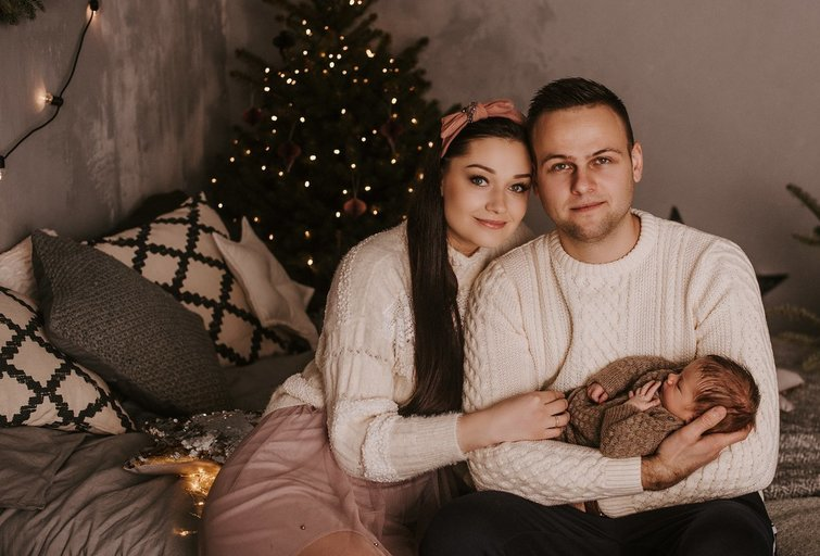 Indrė Juodeikienė su šeima(Nuotraukos Gitanos Simutienės)