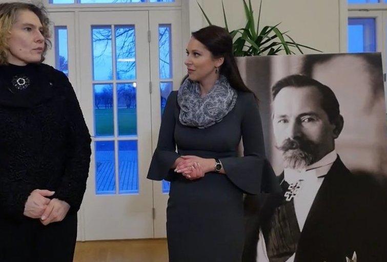 Apsižvalgykite: naujam gyvenimui prikeltas A. Smetonos dvaras Užugiryje (nuotr. TV3)
