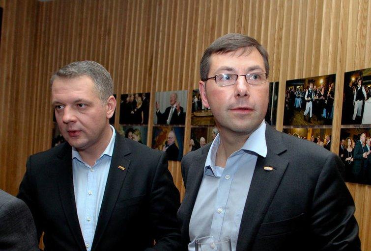 Eligijus Masiulis ir Gintaras Steponavičius (nuotr. Fotodiena.lt)