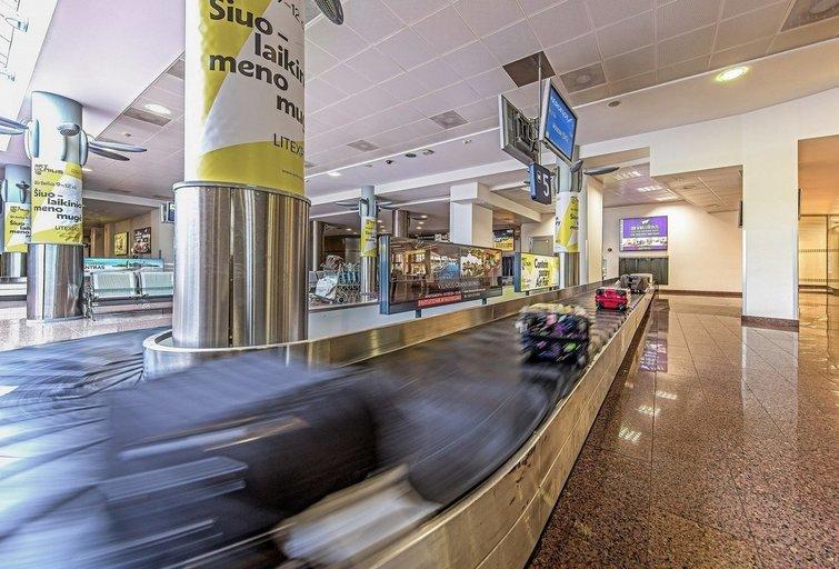 Bagažas oro uoste (nuotr. Organizatorių)