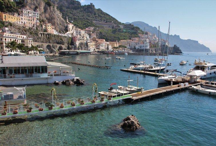 Amalfio pakrantė, Pietų Italija (nuotr. tv3.lt)
