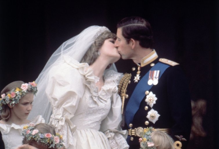 Princesės Dianos ir princo Charleso vestuvės (nuotr. Vida Press)