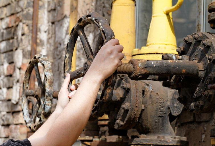 Dujų tiekimas (nuotr. Fotolia.com)