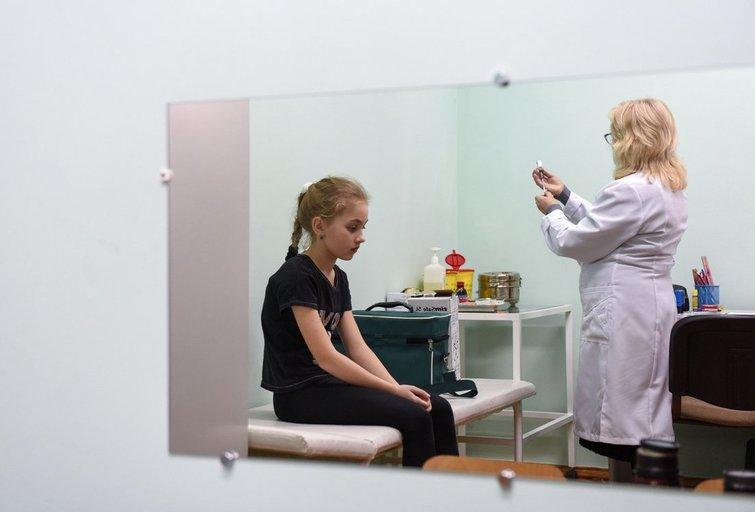 Tymų karštinė: neskiepijančių vaikų Vokietijoje laukia solidžios baudos (nuotr. SCANPIX)