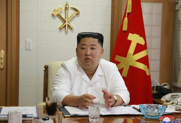 Retas įvykis: Kim Jong Unas atsiprašė dėl nušauto ir sudeginto Pietų Korėjos valdininko (nuotr. SCANPIX)