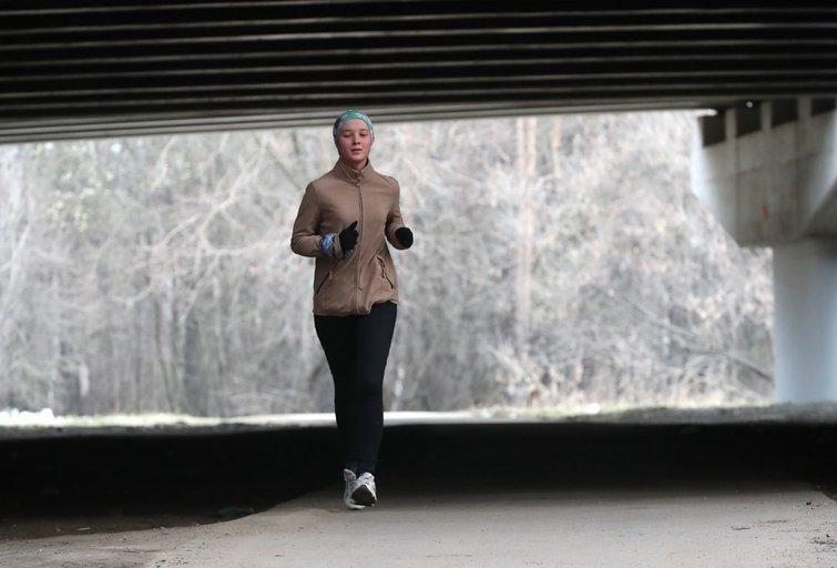 Bėgiojimas (nuotr. SCANPIX)