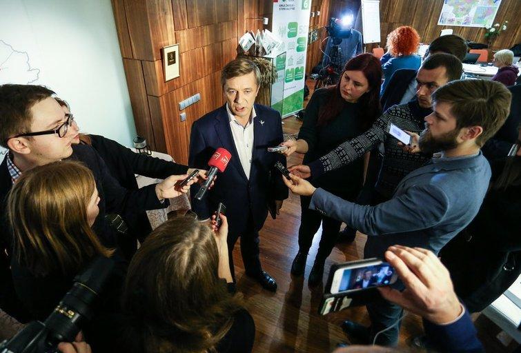 Lietuvos valstiečių ir žaliųjų sąjungos frakcijos pirmininkas Ramūnas Karbauskis (nuotr. Fotodiena.lt)