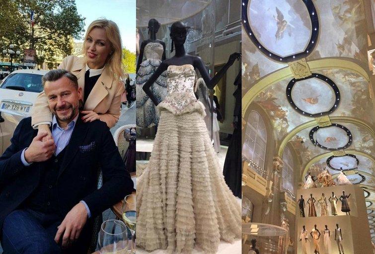 Natalija Martinavičienė ir Sigitas Martinavičius lankėsi Paryžiuje (nuotr. asm. archyvo)
