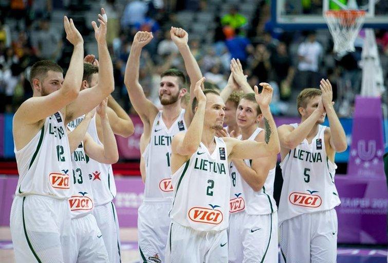 Lietuvos studentų krepšinio rinktinė (nuotr. LSSA)