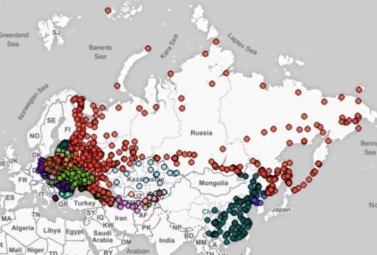 Stulbinami padariniai: žemėlapis parodo pavojingiausių taikinių sąrašą Europoje