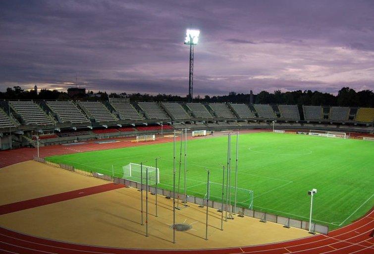 (nuotr. LFF.lt) Kauno S. Dariaus ir S. Girėno sporto centro stadionas. (nuotr. Balsas.lt)