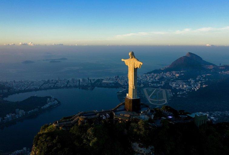 Jėzaus Atpirkėjo statula Brazilijoje (nuotr. SCANPIX)