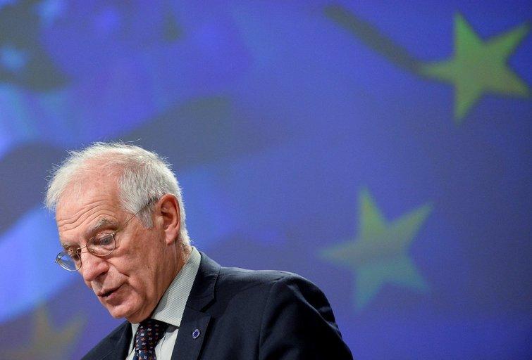 Europos Sąjungos diplomatijos vadovas Josepas Borrellis (nuotr. SCANPIX)