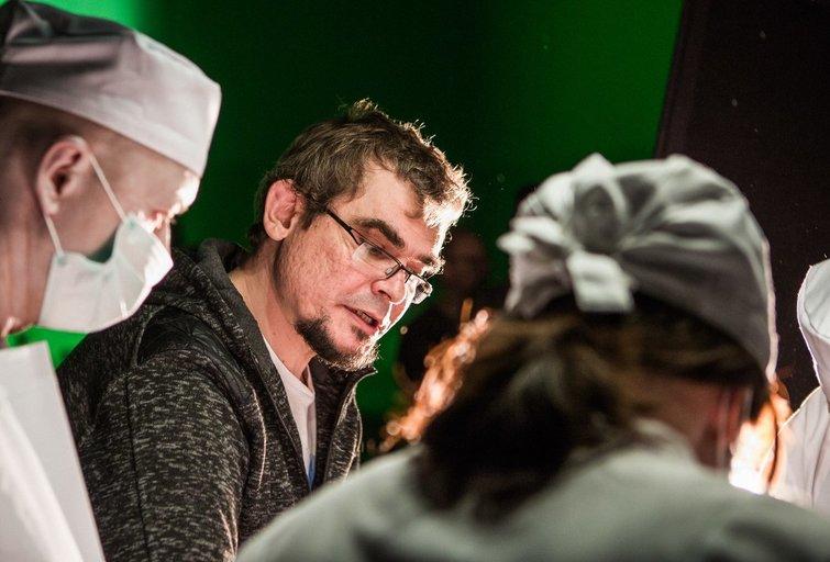 """Režisierius E. Vėlyvis: """"Atėjo laikas surengti patosines pagirias"""" (nuotr. Organizatorių)"""