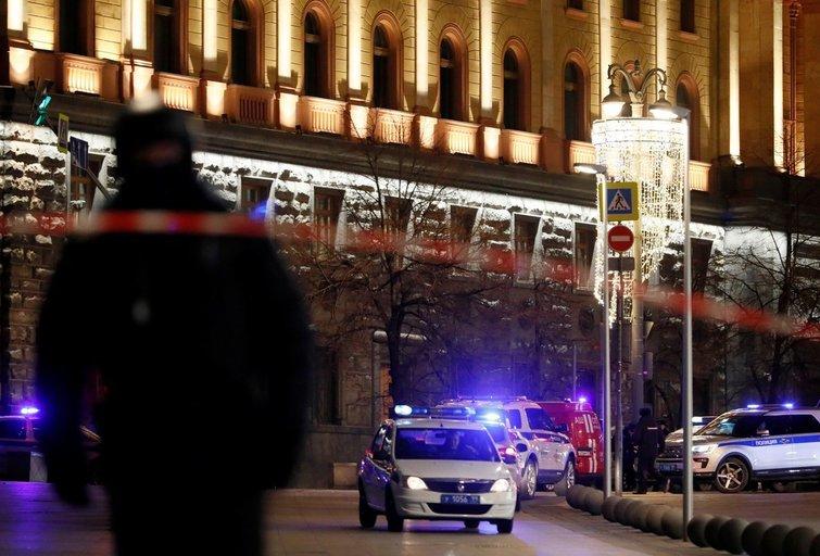Maskvoje prie saugumo pastato kilo šaudynės (nuotr. SCANPIX)