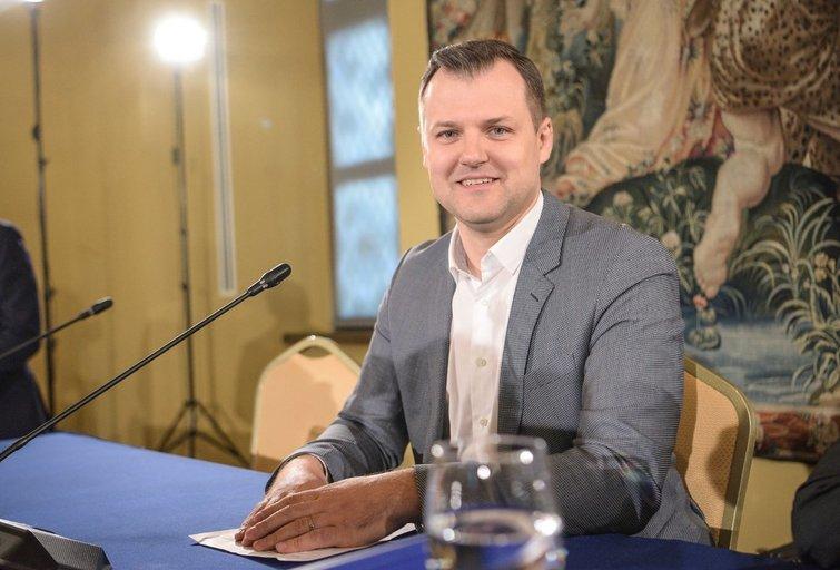 Diena po rinkimų - socialdemokratai (Fotodiena/Arnas Strumila)