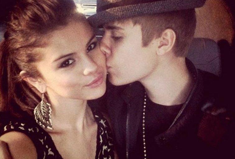 S. Gomez ir J. Bieberis (nuotr. Twitter)