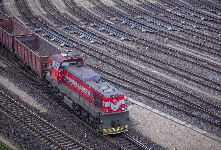 Traukinys (bendrovės nuotr.)