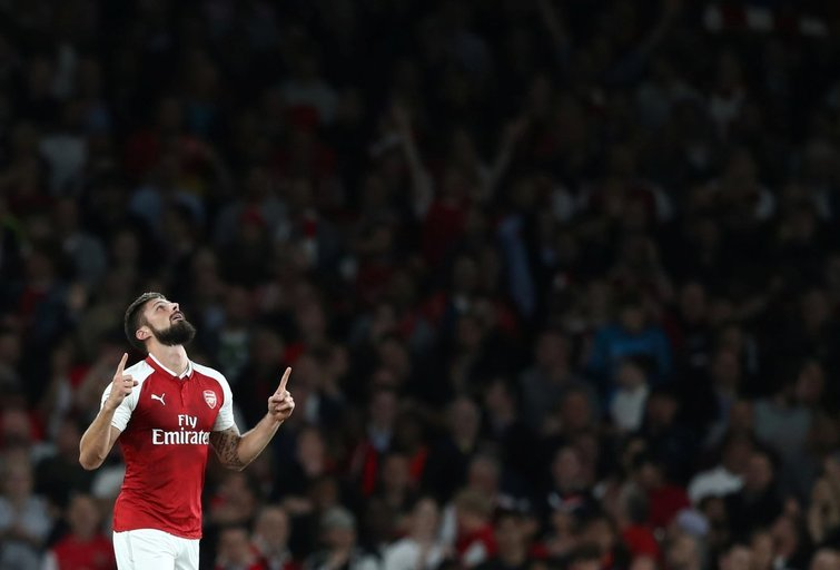 "Londono ""Arsenal"" – ""Leicester City"" 4:3 (nuotr. SCANPIX)"