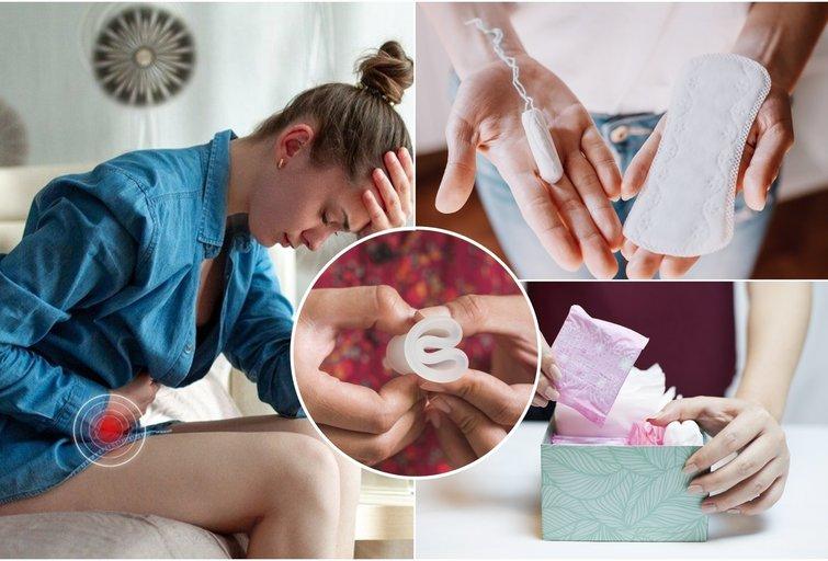 Moteriškos higieninės priemonės (nuotr. Shutterstock.com)